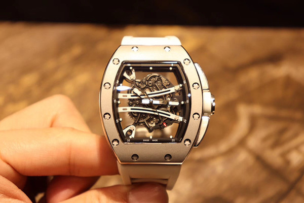 New whole ale luxury watche rm 6101 apphire gla rubber belt miyota care men 039 automatic mechanical watche waterproof delivery