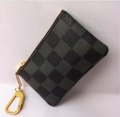 New Fashion Designer Women Men Coin Wallets Holders Unisex Formal Short Purses Clutch Handbags Bags Totes A100