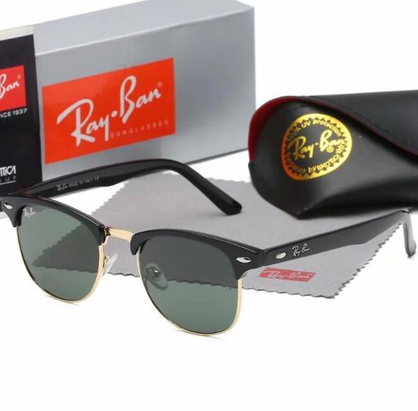 top popular Men's sunglasses frog mirror 2019 new star personality glasses sunglasses driver driving mirror web celebrity with original box 2019