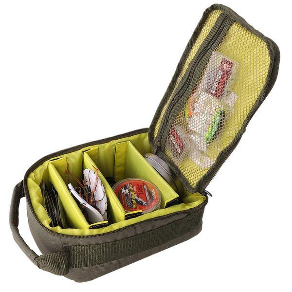 Bolsa multiusos de utilidad táctica Nylon Molle Bolsa EDC Herramientas Supervivencia Bolsa de bolsas impermeables para Fshing Bolsas al aire libre