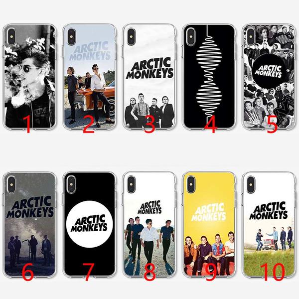 Arctic Monkeys Yumuşak Silikon TPU Telefon Kılıfı için iPhone 5 5 S SE 6 6 S 7 8 Artı X XR XS Max Kapak