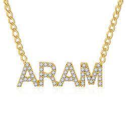 Chapeamento de ouro 1-5 Letters China 45 centímetros