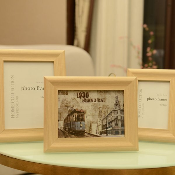 2019 Simple Wood Color Photo Frames 6 7 8 10 Picture Frame For Table Diy Family Classic Photos Frames Home Decoration From Cindy668 8 88