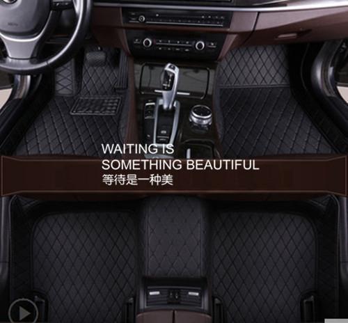 For Volvo S90 2017~2019 leather Car Floor Mats Waterproof Mat