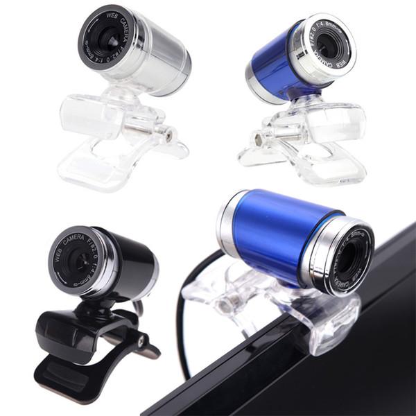 Mini USB Web Camera 12 Megapixel HD Webcams 360 Degree MIC Clip-on for Skype Computer PC Laptop