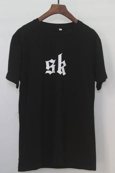 Tanrı korkusu tshirt tasarımcı erkek kadın çift tişörtleri gelgit marka Butik gevşek t-shirt yüksek kaliteli pamuk t-shirt mektubu logo baskı tee