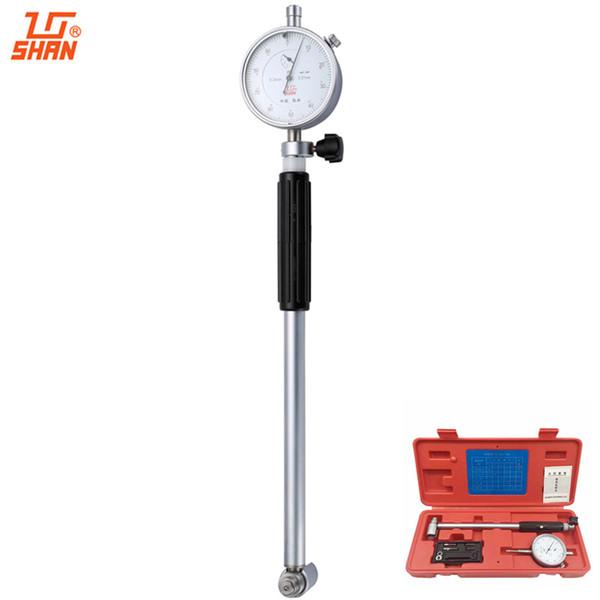 top popular Freeshipping SHAN Dial Bore Gauge 35-50mm 0.01 Dial Indicator Micrometer Cylinder Internal Bore Measuring Engine Gauge 2021