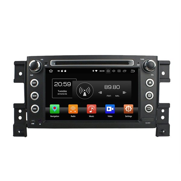 "4GB RAM 64GB ROM Octa Core 2 din 7"" Android 8.0 Car DVD Player for Suzuki Vitara 2005-2011 RDS Radio GPS 4G WIFI Bluetooth TV USB DVR"