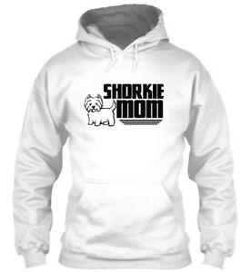 Shorkie anne O-neo-Boyun Hoodie Sweatshirt