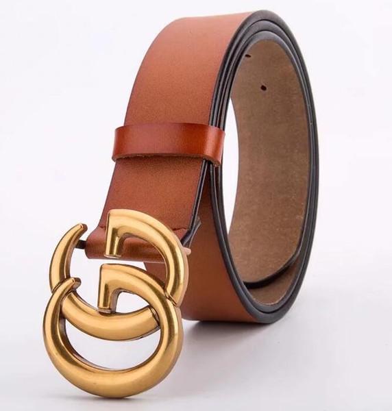 Couro Moda Belt Homens Belt Boa qualidade Suave Cintos Buckle Mens por Mulheres Belt Jeans Strap