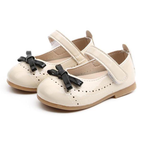 Baby Girls Sandals Princess Shoes Girl\u0027S Casual School Shoes Comfortable  Soft Leather Flats Shoe Children Sweet Sandalias Bebes Girls Black Boots  Size