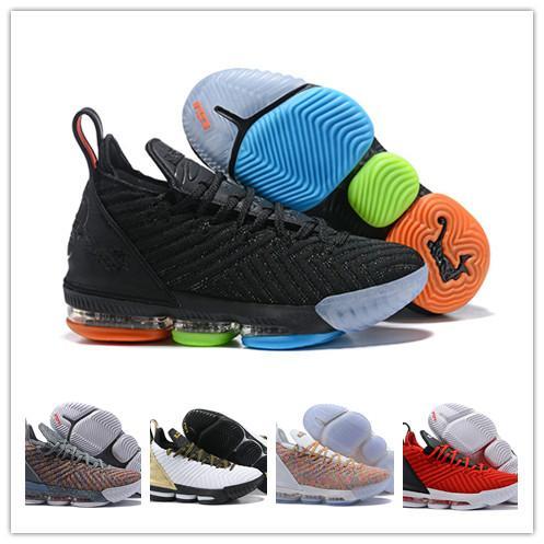 Acheter Chaussures De Basket Ball De Sport Hommes Originaux 16s James Baskets Regarder Le Trône Roi Oreo 16s Chaussure De Basket Ball Szie 40 46 De