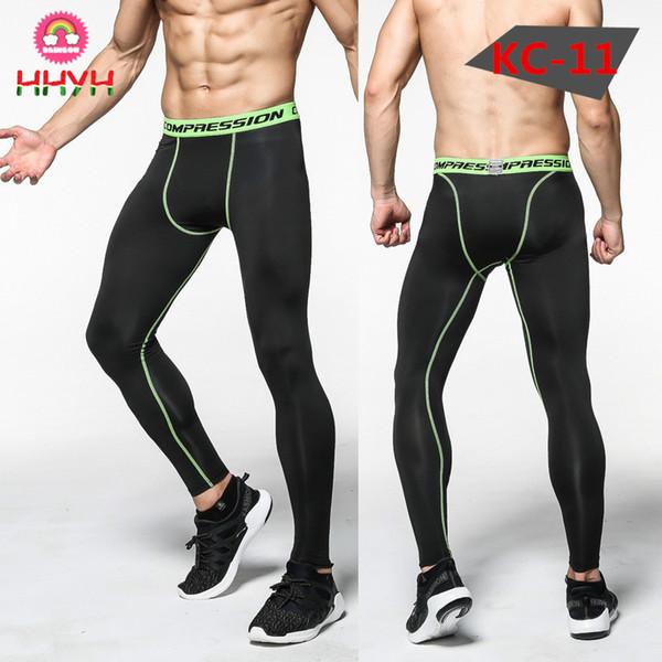 Gimnasio Pantalones largos Hombres Camuflaje Compresión Elástica Secado rápido Ciclismo Baloncesto Ejercicio Gimnasio Deportes Ropa deportiva transpirable