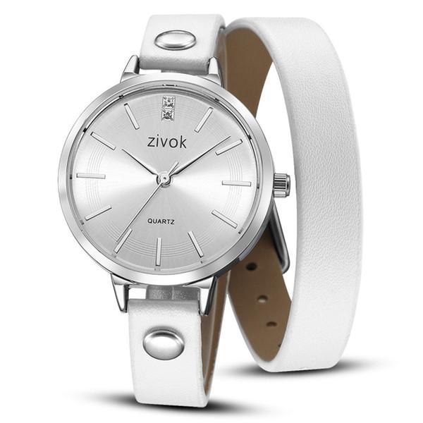 Zivok frauen uhren quarz armbanduhren mode grenzüberschreitende retro leder band armband uhren für frauen damenuhr