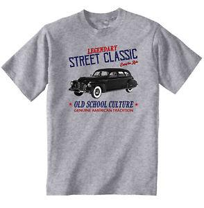 VINTAGE AMERICAN CAR Custom MODEL C90 NEW COTTON T