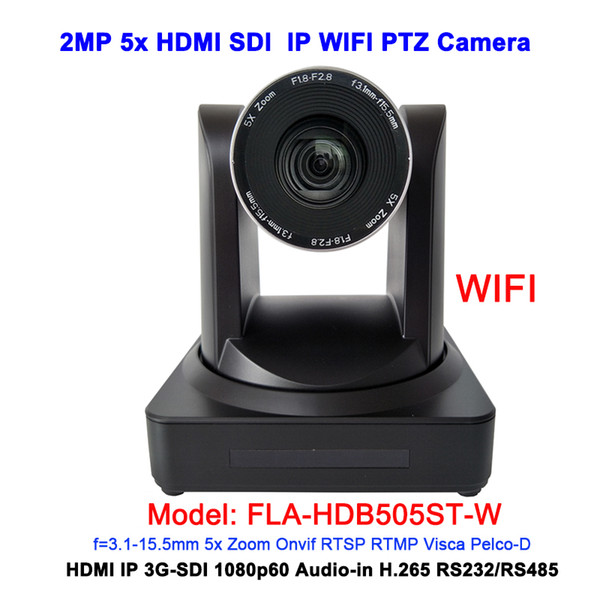 Wide Angle 5x Optical zoom 1080P60 HDMI 3G-SDI PTZ Video Conference IP Wireless Camera Conferencing Device