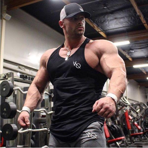 Nouveau Mens Débardeurs Sans Manches D'été D'été Coton Coton Débardeurs Débardeurs Gymnase Vêtements Bodybuilding Undershirt Golds Fitness top