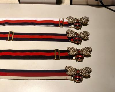 2019 New bee buckle belt Fashion Belt Elastic woven belts Designer Belt For Men And Women business belts Brand belts for women