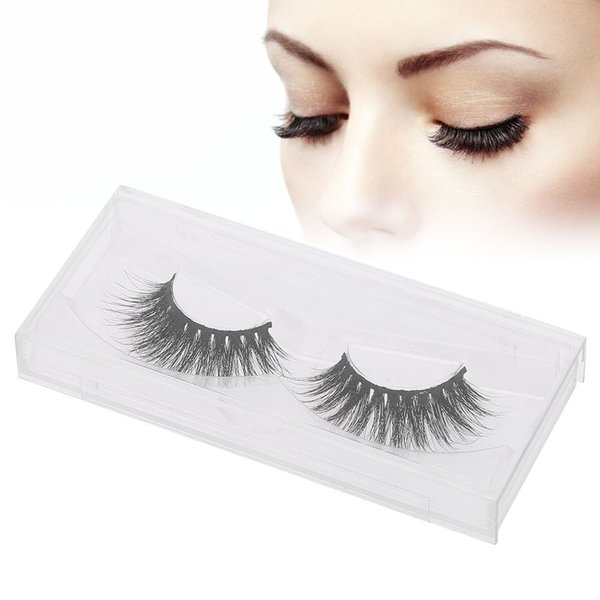 3D Mink False Eyelashes Extension Natural Long False Lashes Fur Thick Fake Eyelashes Makeup Eye lashes Tool