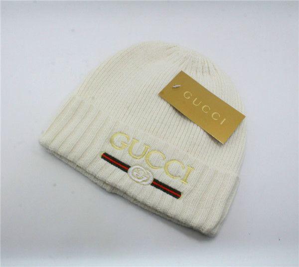 2019 моды Designerss Высокое качество luxurss зима вязаные шапки на открытом воздухе Hat эластичные шляпы мужчин Вальм защиты хмель Держите теплую шапку G2Gucci