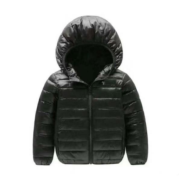2018 marka kuzey çocuk giyim Erkek ve Kız Kış Sıcak Kapüşonlu Ceket Çocuk Pamuk-Yastıklı Aşağı Ceket Çocuk Ceketler 4-12 Yıl 120-160