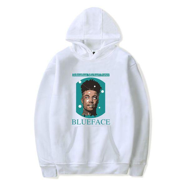 Blueface 2D же пункт новый толстовка с капюшоном свободного покроя с капюшоном с длинным рукавом тенденция повседневная одежда