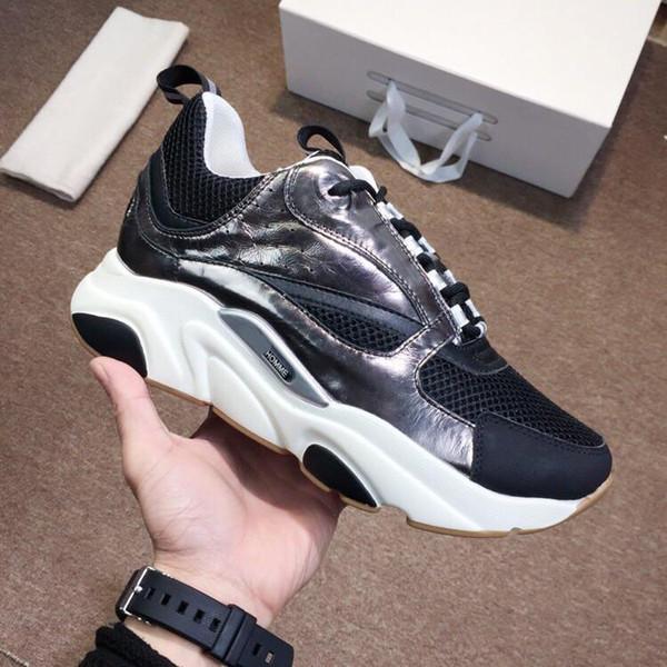 2019 последние женские туфли мужские дизайнерские туфли высокого качества мода B22 кроссовки роскошные женские повседневная обувь мужская размер 35-44