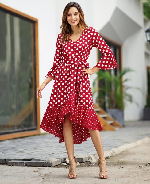 Women's Wear New Spring 2009 Fashion Printed Street Long Sleeve Large Size Dresses