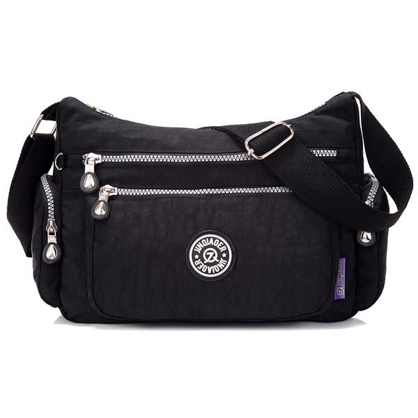 Borse nuova delle donne di viaggio Solid Sacchetti di spalla impermeabile del messaggero sacchetti di nylon per le donne signore femminile Bolsa Summer Fashion