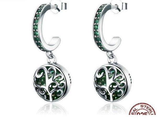 SPE 3-2 orecchini per le donne in acciaio inox zirconi insiemi degli orecchini Orecchino dei monili vendita calda