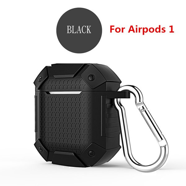 Black For airpods 1 (Without Light Hole)