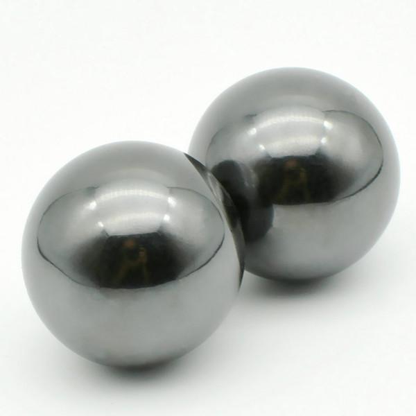 Health Care Ferrite Magnet Balls Sphere Shape Shinny Spheres Large Size Ceramic Jewlery Ball Permanent Magnets 33mm Hand Massage