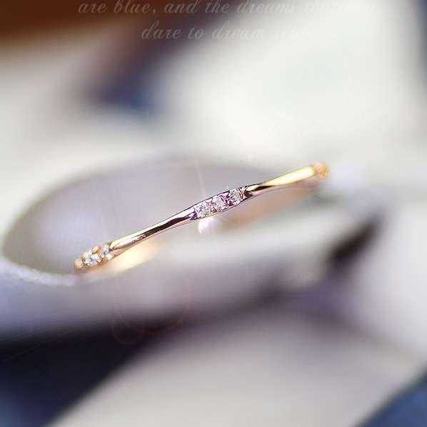 senhora simples anel de casamento designer de moda designer de jóias anéis Wedding Party presente Hight qualidade Drop Shipping