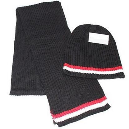 ALL'INGROSSO 2018 tenere in caldo Cappelli Sciarpe sciarpa cappello uomini e donne inverno caldo cappello di lana trasporto libero