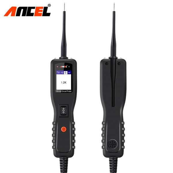 Ancel PowerScan PB100 12V Auto Circuit Tester Electrical System Car Diagnostic Tool Power Probe Automotive AC DC Voltage Tester