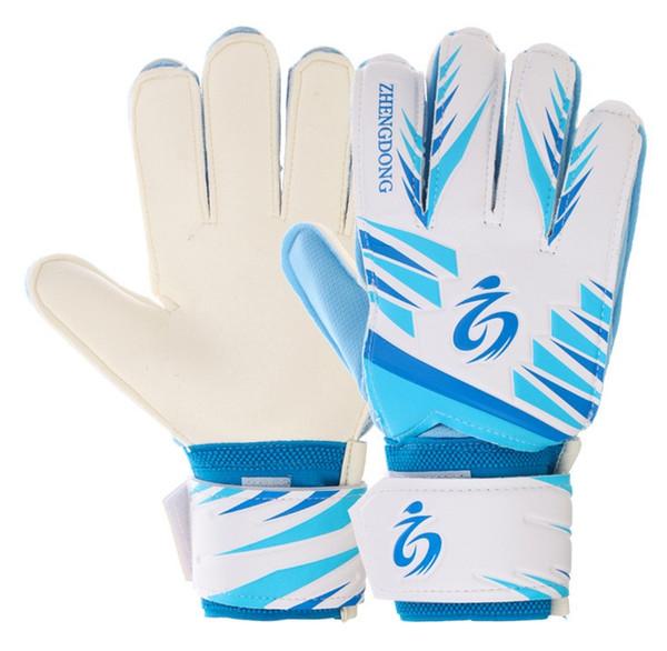 top popular Adult Men Women Children colorful Youth Primary Level Football Goalkeeper Gloves Non-slip Latex Kids Training Soccer Gloves 2021