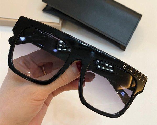 368 Gafas de sol de lujo para mujeres Deisnger Popular Full Frame UV400 Lens Summer SL068 Estilo color negro Cara de calidad superior Ven con estuche