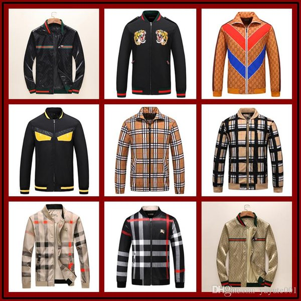 New Jacket Coat With Letter Grass Print Luxury Designer Jackets Windbreaker Hooded AD Hoodie Long Sleeve Brand Mens Clothing M-3XL