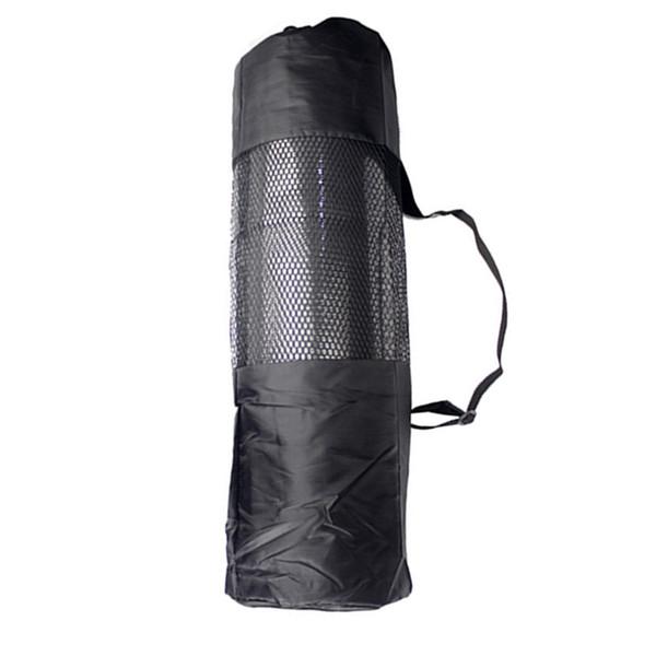 Хранение сетки Гибкая сумка-переноска без коврика Houkiper Yoga Mat Bag Фитнес-регулируемый ремень для переноски упражнений