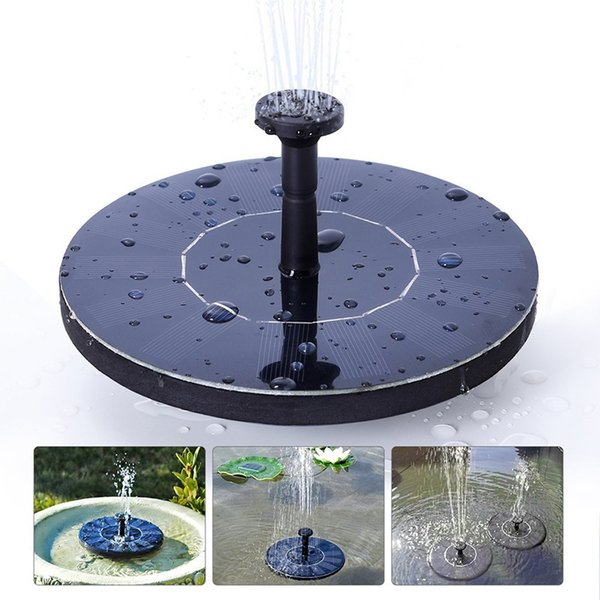 Solar Fountain Watering kit Power Solar Pump Pool Pond Submersible Waterfall Floating Solar Panel Water Fountain For Garden
