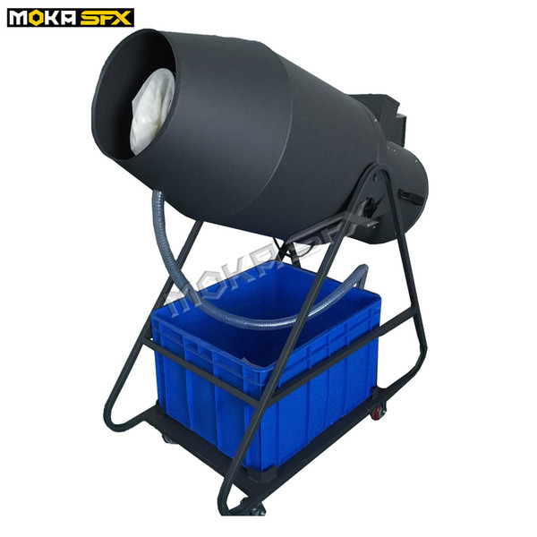 top popular Moka MK-H03 Spray Foam Machine 1800W Foam Cannon Machine Foam Fantasy Machines Flight Case Packing for Party Stage Club Special Effect 2021