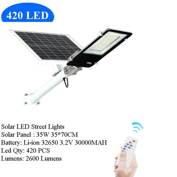 420 شارع LED الشمسية