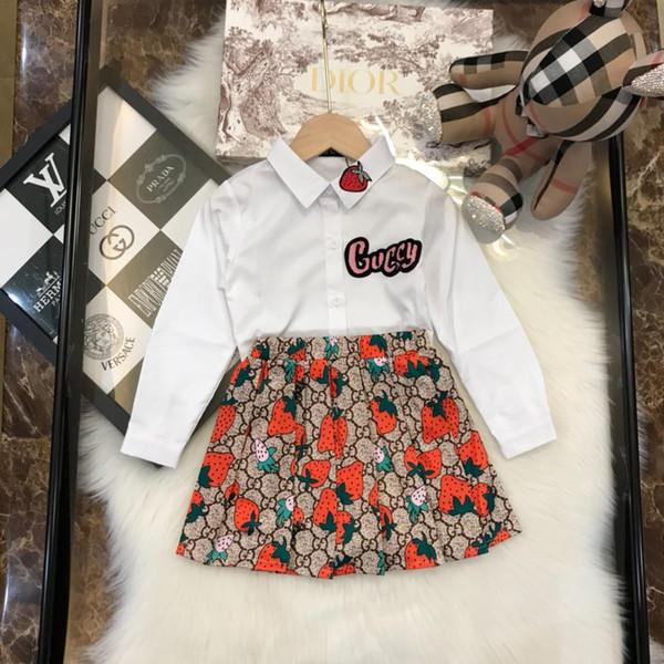 2019 Vêtements pour enfants Kids DressSuit Set 2 pièces 41402
