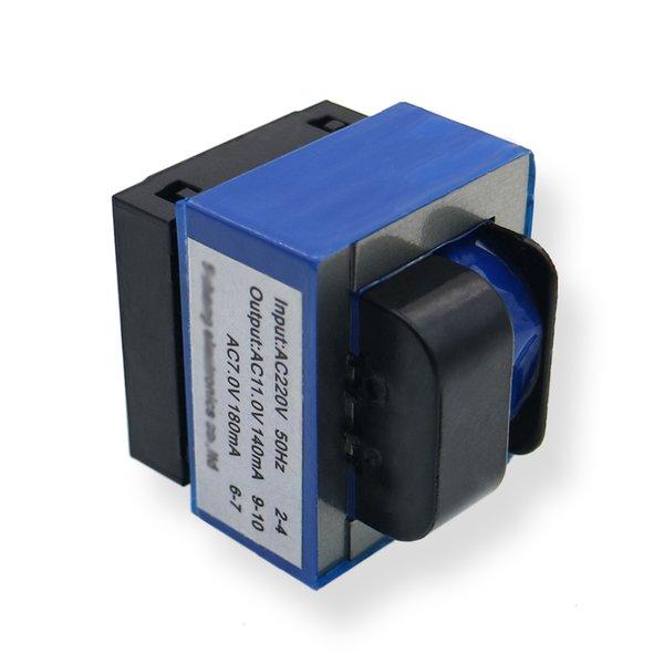 Électroménagers 1pcs / lot four micro-ondes transformateur Transformateur de panneau d'ordinateur Transformateur sept pieds 220 AC11V 7V de bonne qualité Appareils ménagers P ...