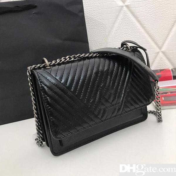 Designer Handbags Chain Shoulder Purse Y Bag Fashion Totes Women Designer Handbag Genuine Leather High Quality Purse Bag