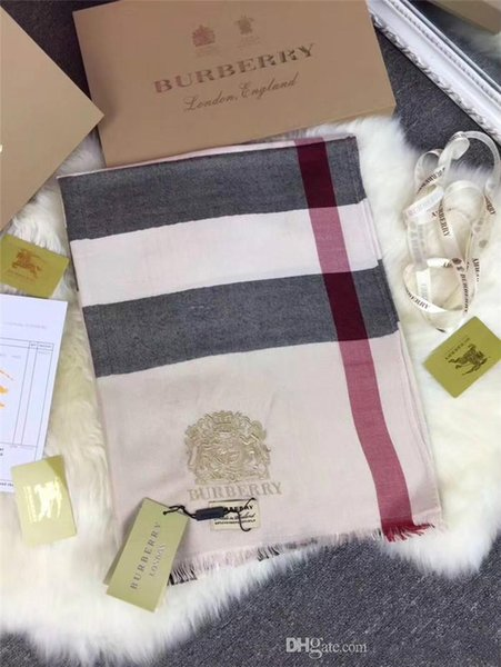 high-quality Classic cashmere Scarf Luxury Designer grid Womens luxury brands Scarf Elegant Ladies joint Wrap long scarves 180x70cm