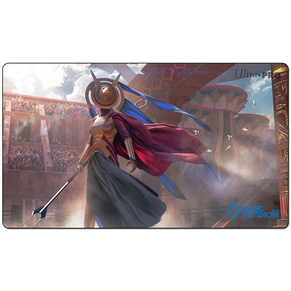 Magic Board Game Playmat:hazoret the fervent invocat 60*35cm size Table Mat Mousepad Play Matwitch fantasy occult dark female wizard2Trial o
