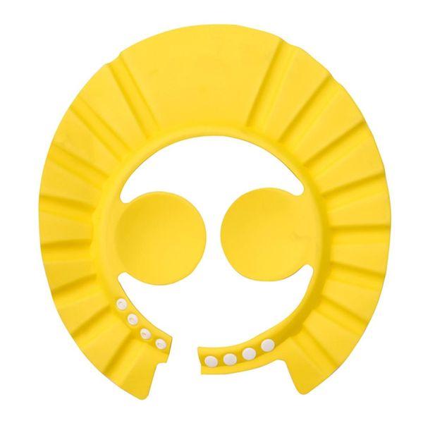 2016 Fashion Kids Shampoo Bath Shower Cap Visor Wash Hair Shield Hat With Ear Cover Bathroom Products