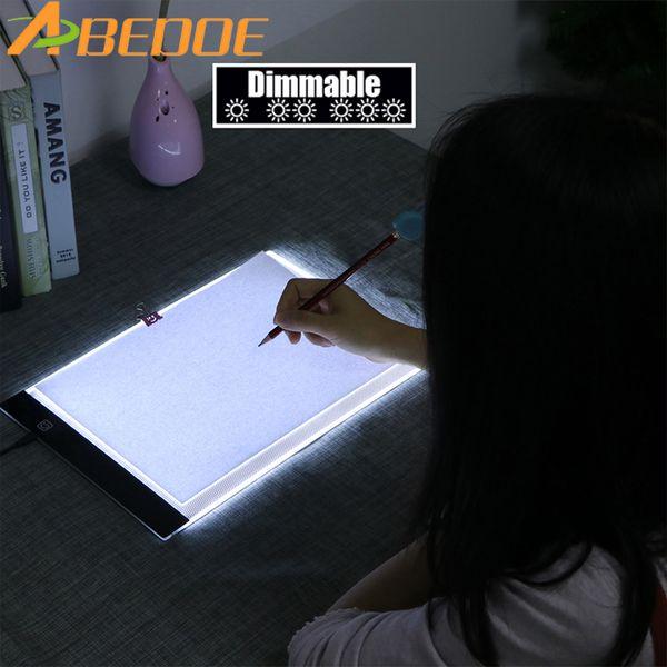Diamond Painting Accessories Ultradunne 3.5mm A4 LED Licht Tablet Pad gelden EU/UK/AU/US/USB Plug Diamant Borduurwerk Diamant