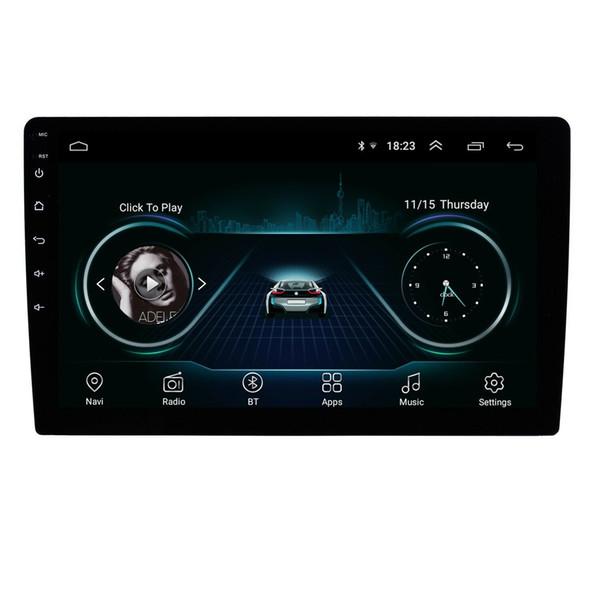Système audio de voiture Bluetooth avec navigation GPS 8.1 Android HD avec écran tactile de 10 pouces